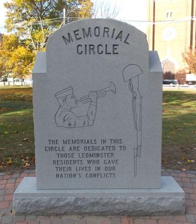 2014-11-08  Memorial Circle monument