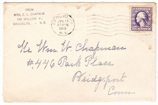 chapman envelope