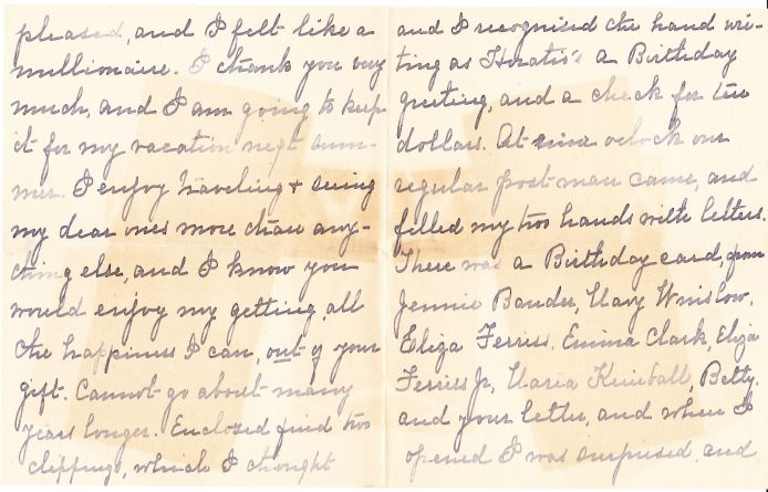Chapman letter