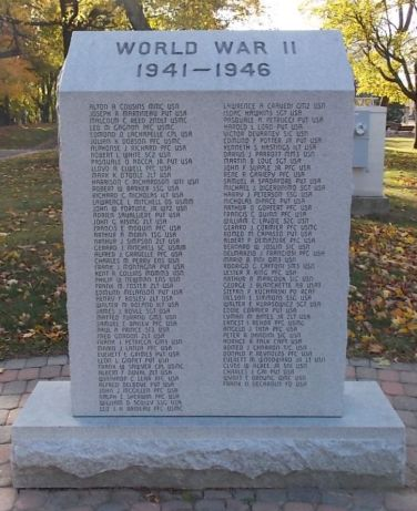 World War II Monument