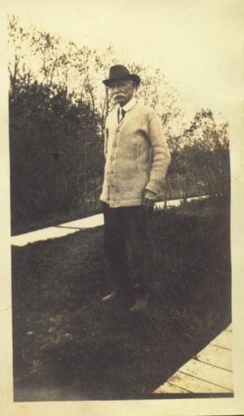 Andrew Jackson Gerrish circa 1917-1918