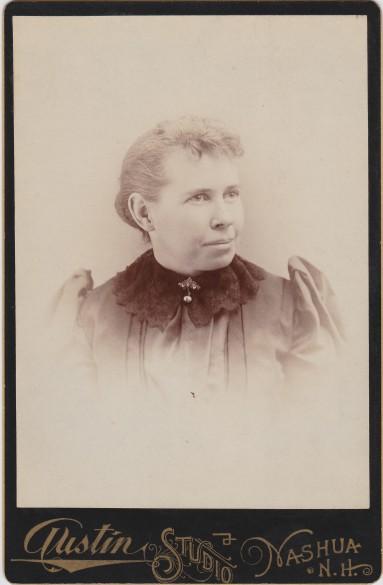 Lizzie Atwood Willard wife of Everard C. Willard
