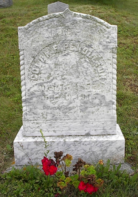 Colon Pendleton headstone